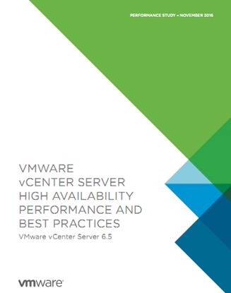 Ảnh của vCenter Server HA Performance And Best Practices 6.5